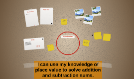 I can use my knowledge of place value to solve addition and