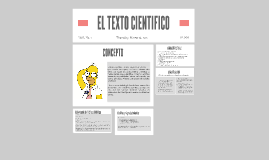 EL TEXTO CIENTIFICO