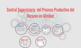 Control Supervisorio  del Proceso Productivo del Durazno en