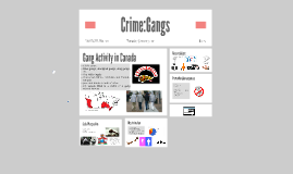 Crime:Gangs