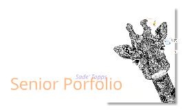Copy of Senior Portfolio