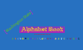 The Alphabet Book Project