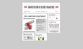 Copy of ADMINISTRACIÓN DE RIESGOS fINANCIEROS