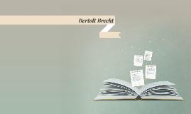 Berthold Brecht Leben