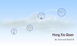 Copy of Copy of Hong XiuQuan