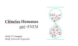 Ciências Humanas pré-ENEM