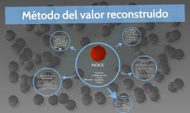 Método del valor reconstruido