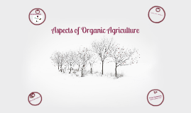 Copy of Organic Agriculture