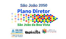 Plano Diretor - São João 2050
