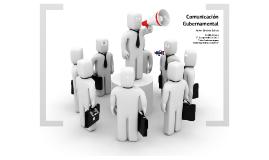 Copy of Comunicación Gubernamental