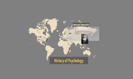 How far back does Psychology go?