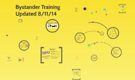 Copy of Bystander Training