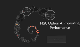Copy of HSC Option 4: Improving Performance