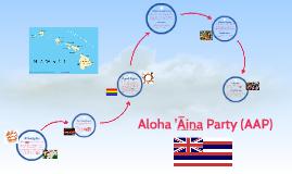 Aloha 'Aina Party (AAP)