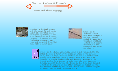 Chapter 4 Atoms & Elementrs
