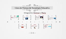 Copy of Línea de Tiempo de Tecnología Educativa