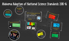 EDLD 737 Alabama Adoption of National Science Standards 2015-16