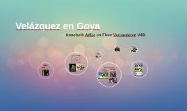 Velázquez en Goya