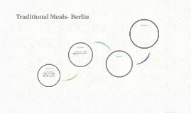 Traditional Meals- Berlin