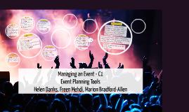 U4 C1 Managing an Event