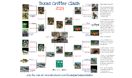 Texas Parks & Wildlife's Texas Critter Clash 2013