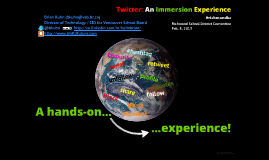 2013 Twitter an Immersion Experience - Richmond School District
