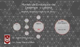 Modelo de Evaluación del Desempeño Laboral