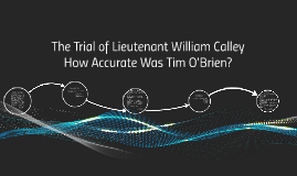 The Trial of Lieutenant William Calley