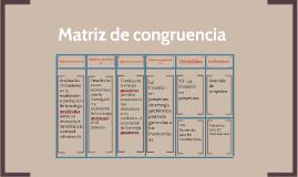 matriz de congruenciapaola escobar on prezi