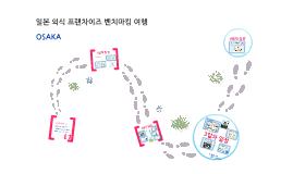 일본 외식업 벤치마킹 여행 map