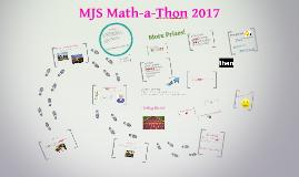 MJS Math-a-Thon 2015