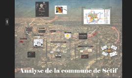 Analyse de la Commune de Sétif