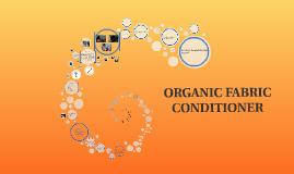 ORGANIC FABRIC CONDITIONER