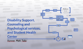 Disability Support, Counseling and Psychological services, a