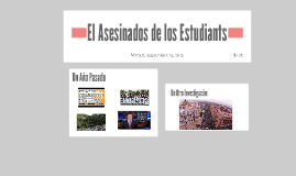 El Asesinados de los Estudiants