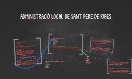 ADMINISTRACIÓ LOCAL DE SANT PERE DE RIBES