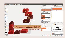 Primeros efectos de GIMP