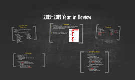 2013-2014 Year in Review