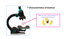 7 Characteristics of Science