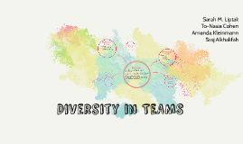 Diversity in TEAMS