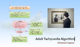 Adult Tachycardia Algorhythm