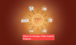 Copy of Effects of a Younger/Older Student Program