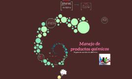 Manejo de productos quimicos