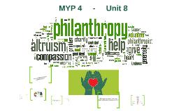 MYP 4     -     Unit 8
