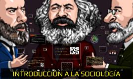 INTRODUCCIÓN A LA SOCIOLOGÍA