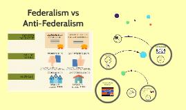 Federalism vs Antifederalism