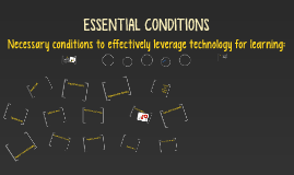 Copy of ESSENTIAL CONDITIONS