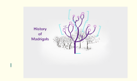 History of Madrigals