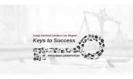 Copy of Law Magnet Freshmen Orientation - Keys