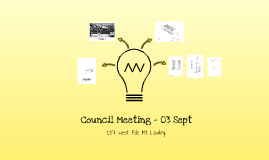 Council Meeting - 03 Sept